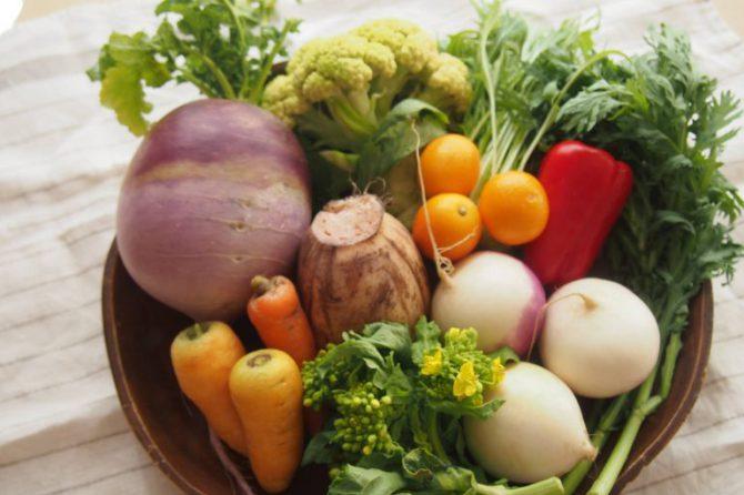 ぐっすり眠って、温かく。野菜をたっぷり食べよう!