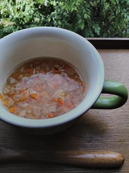 みんなで食べるスープについて。