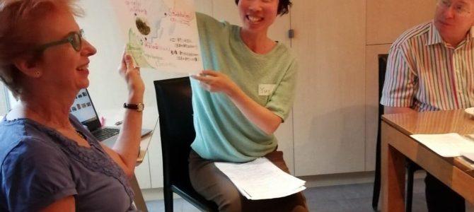 【持続可能な食について】スウェーデンからのゲストクリスティーナさんからの学び。