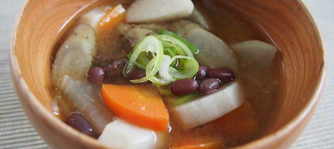 12月8日は、事八日。具だくさん味噌汁「おこと汁」で、無病息災を祈ろう!