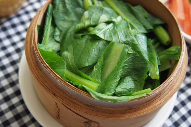 【かんたん旬レシピ】ばくばくいけちゃう!?小松菜のセイロ蒸し