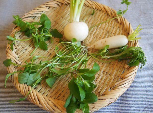 七草粥レシピ。