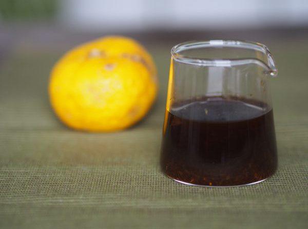 とても簡単!冬の手作りポン酢レシピ