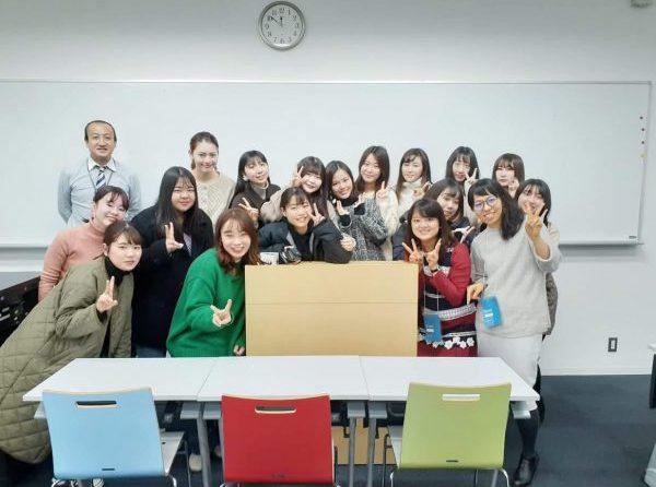 昭和女子大学へゲスト講師をさせていただきました!