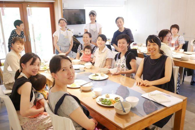 オーガニック料理教室は料理が得意な人ばかり・・・?