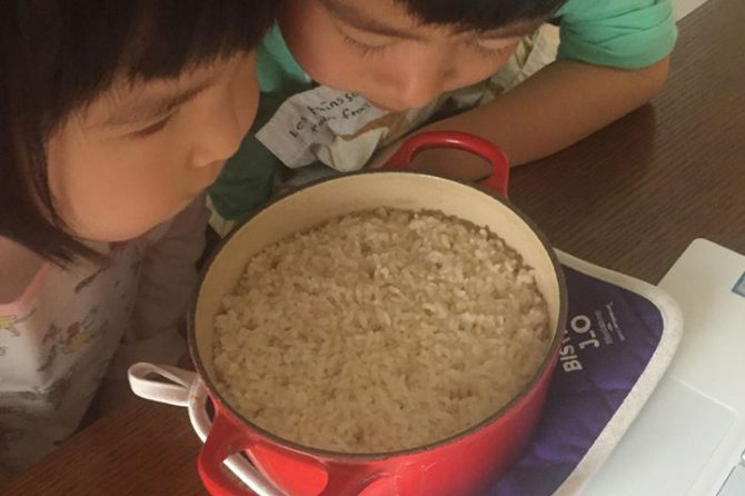 「未来の台所力育成講座・幼児クラス」オンライン開催レポート