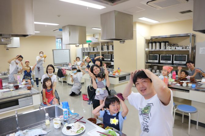 おにぎりでおもてなし♪「未来の台所力育成講座~幼児クラス最終回」開催レポート
