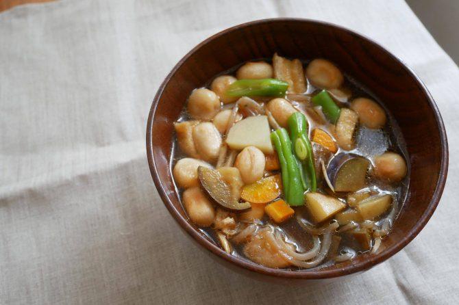 宮城県のおくずかけ・禅のこころを受け継いで~「郷土料理・行事食オンライン」開催レポート