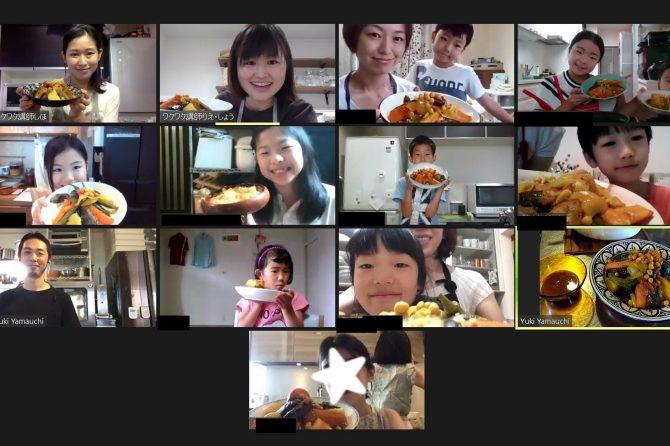 初めて食べる食材に親近感が湧くきっかけになりました。~子ども料理教室・小学生クラスご感想
