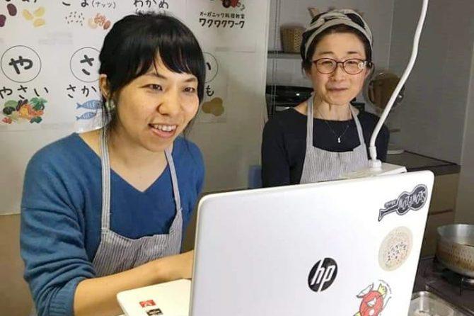労働組合の皆さまとオンライン料理教室を開催しました!