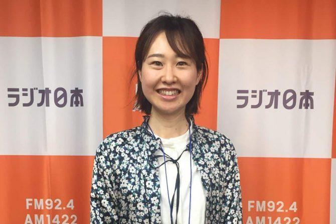 ラジオ日本「SWEET!!」に本校代表講師・本間緑が出演しました!