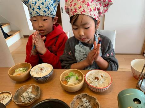 前日からたのしみで、準備はばっちり完了!~オンライン子ども料理教室・小学生クラスご感想