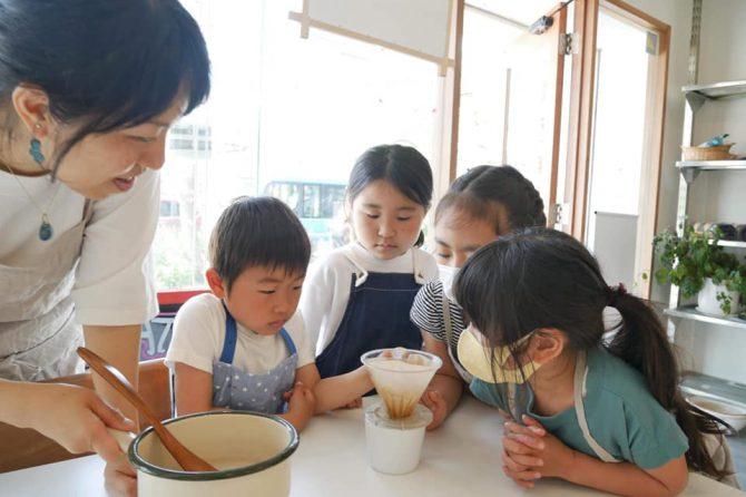 鎌倉の沖合いの水で塩をつくっておにぎりを食べよう!