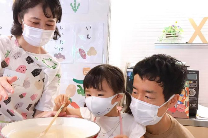 できたての豆腐に感動!~「未来の台所力育成!子ども料理教室~幼児クラス」開催レポート