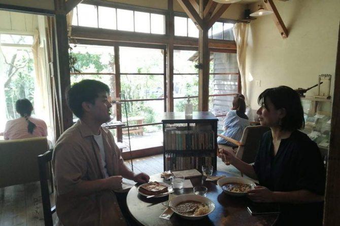 北鎌倉の喫茶ミンカにお伺いしました。